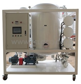 Automatic type Double-stage vacuum Transformer oil filtration equipment with PLC