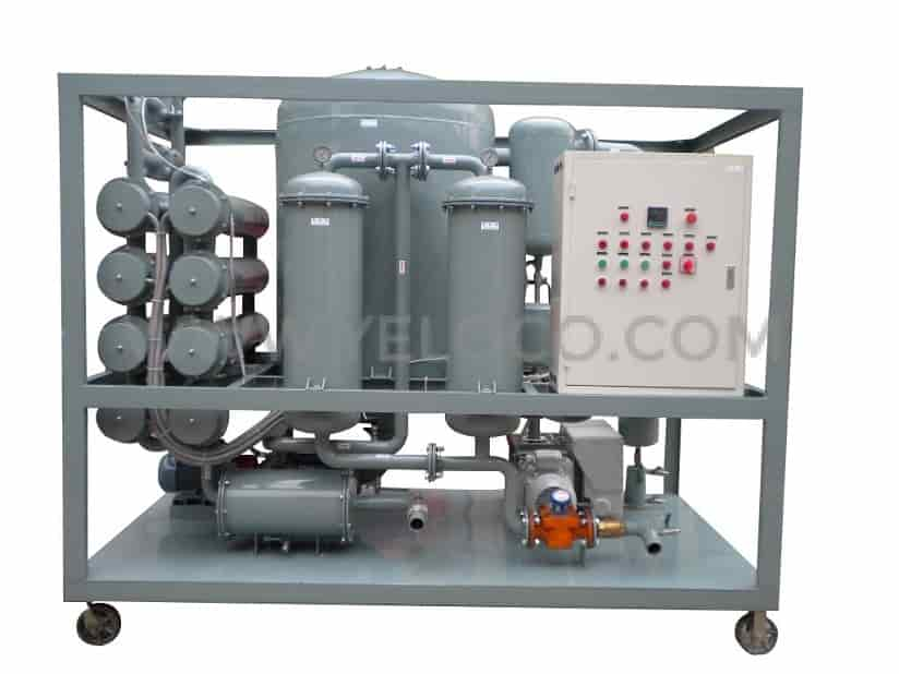 yeloco-yh-zyd-r-double-stage-vacuum-transformer-oil-regeneration-machine